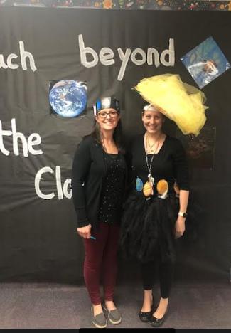 Mrs. Bradley & Mrs. Rivera