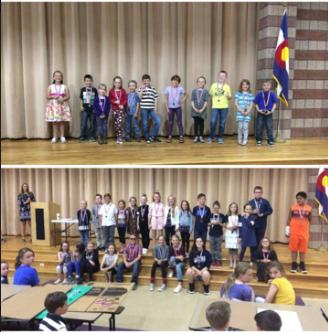 CES Science Fair participants and winners