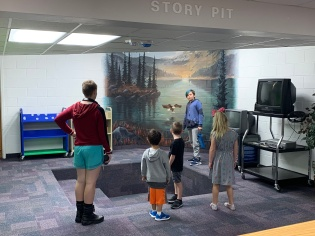 Learning how to use the story pit