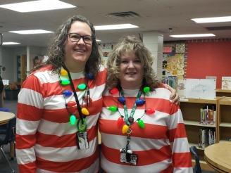 Mrs. Hanenberg and Mrs. Bryan=SMART twins!