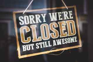 sorry we re closed but still awesome tag